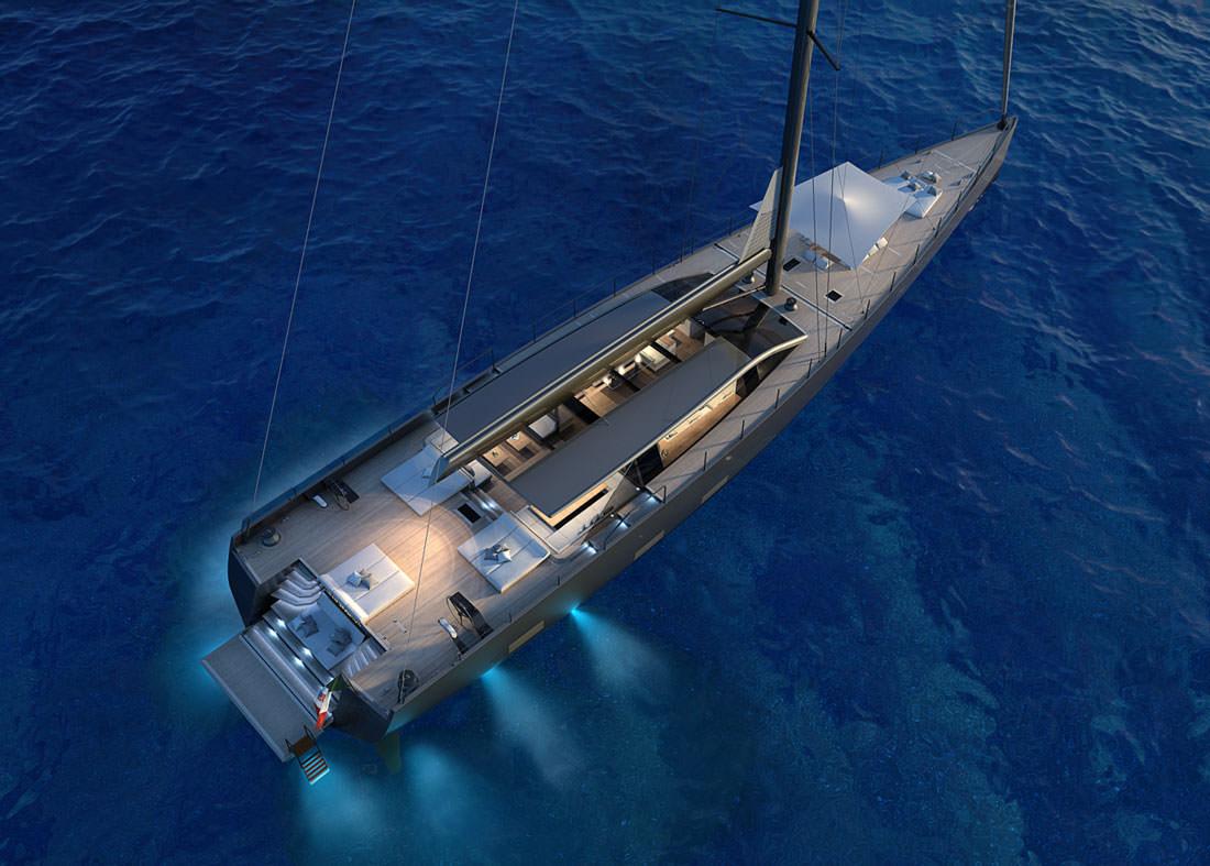 Perini Navi Announces The Sale Of A 42 Meter Sailing Yacht Perini Navi