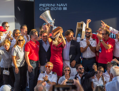 Maltese Falcon triumphs at the seventh edition of the Perini Navi Cup