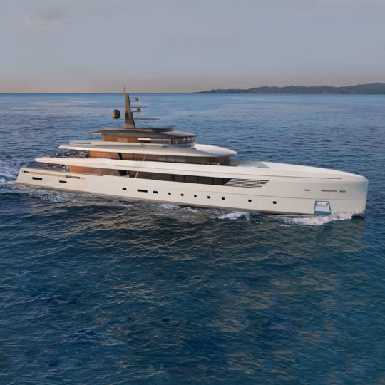 M/Y 66m Voyager Low Profile